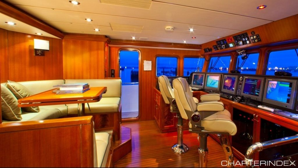 Vivierae captains navigation room