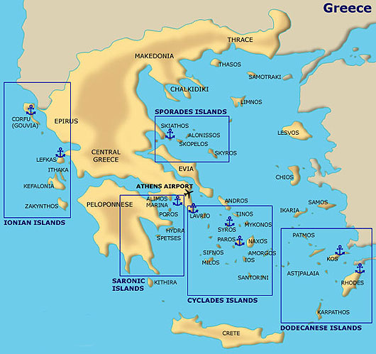 Sailing the greek islands oasis yachting the cyclades route offers the benefit of touching on the main picturesque islands of greece such as mykonos and santorini gumiabroncs Images